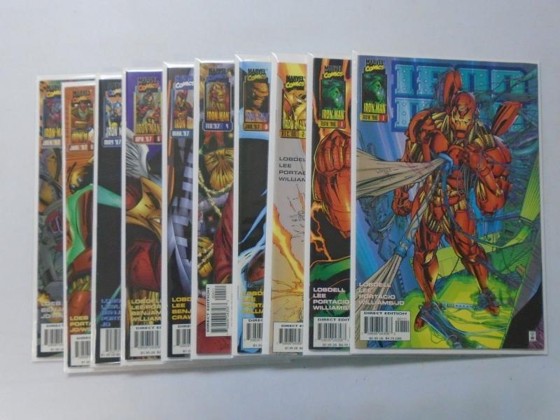 Iron Man run #1 to #9 - 2nd Second Series - 8.5 - 1996 1997
