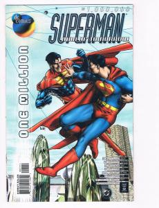 Superman Man Of Tomorrow # 1 Million NM DC Comic Book Superboy Batman Flash S80