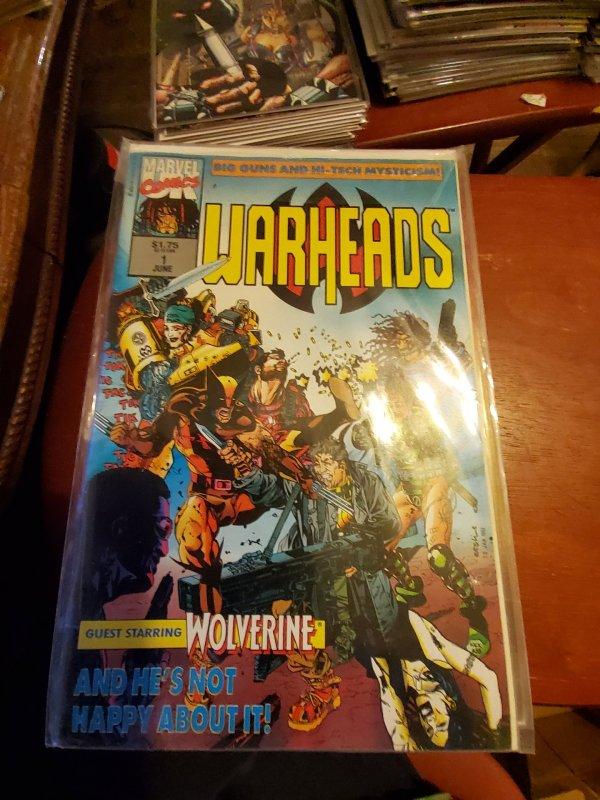 Warheads (UK) #1 (1992)