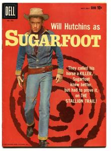 Sugarfoot-Four Color Comics #992 1959-Dell-Will Hutchins cover-Alex Toth-FN/VF