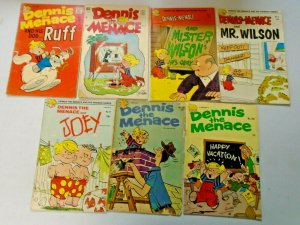 Silver Age Dennis the Menace 14 Different Average 4.0 VG (1961-1971)