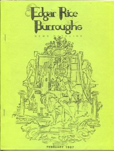 Edgar Rice Burroughs News Dateline #25 2/1987-Tarzan & ERB info-Vern Coriell-FN