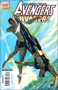 Marvel AVENGERS/INVADERS #3 NM