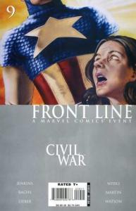 Civil War: Frontline #9, NM + (Stock photo)