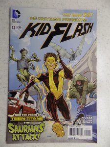 DC UNIVERSE PRESENTS KID FLASH # 12