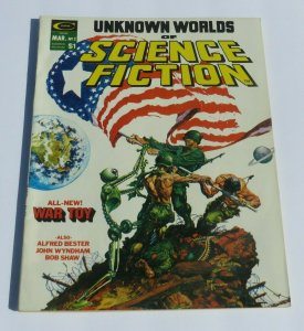 Unknown Worlds of Science Fiction #2 VF- 1975 Magazine Kaluta Cover Bizzare