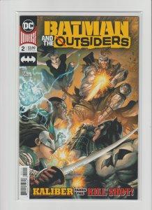 Batman & The Outsiders #2 New Series High Grade NM 9.4