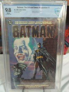 Batman: Official Motion Picture Adaptation #1 - CBCS 9.8 - NM/MINT - White Pages