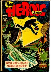 Heroic #60 1950-Famous Funnies-African-American hero story & cover-G/VG