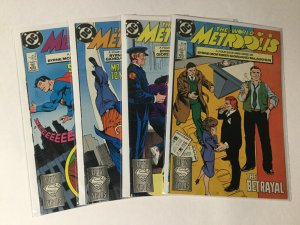 World Of Metropolis 1 2 3 4 World Of Smallville 1 2 3 4 Lot Fine-very Fine Dc