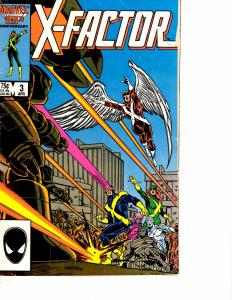 Lot Of 2 Comic Books Marvel X-Factor #3 and #17  Thor Ironman     ON10