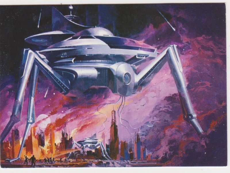 1994 Comic Images Vincent Di Fate Blueprints of the Future Promo Card