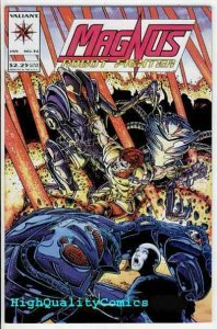 MAGNUS, ROBOT FIGHTER #32, NM+, Mal-Adjusted, Valiant, 1993, more in store