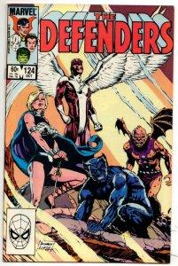 DEFENDERS #124, VF/NM, Valkyrie Angel Beast 1972 1983 Marvel