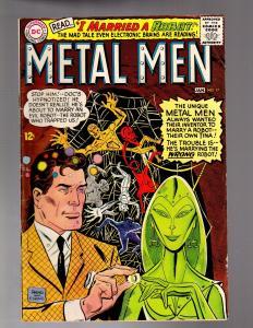 METAL MEN 17 VERY GOOD January 1966