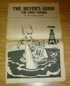 Buyer's Guide for Comic Fandom, The #260 FN; Alan Light | save on shipping - det