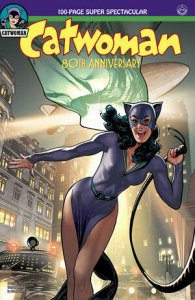CATWOMAN 80TH ANNIV 100 PAGE SUPER SPECT #1 1940S ADAM HUGHES VAR ED