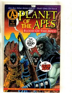 Planet of the Apes: Blood of the Apes # 2 VF/NM Adventure Comic Book SIGNED J372