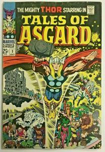 TALES OF ASGARD#1 FN/VF 1968 MARVEL SILVER AGE COMICS