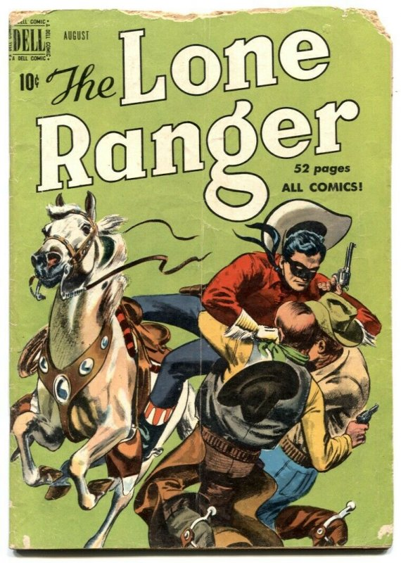 Lone Ranger Comics #26 1950- Dell Western G-