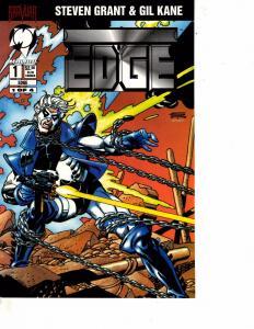 Lot Of 2 Malibu Comic Books Edge #1 and Ex-Mutants #9 ON12