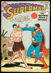 SUPERMAN #171 1964-DC COMICS-CAVE MAN COVER BOXING FN