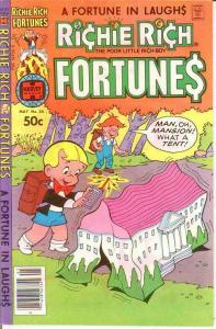 RICHIE RICH FORTUNES (1971-1982) 56 VF-NM May 1981 COMICS BOOK
