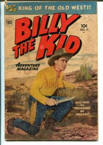 Billy The Kid Adventures #11 1952-Toby-western stories-photo cover-G