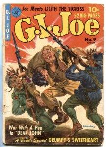 G.I. Joe #9 1952-SAUNDERS cover G