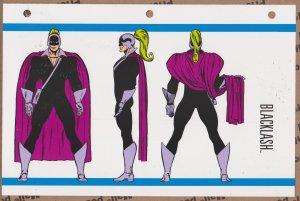 Official Handbook of the Marvel Universe Sheet- Blacklash