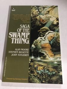 Saga Of The Swamp Thing Alan Moore DC Comics Warner Books Nm Near Mint SC TPB