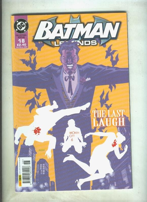 Batman Legends volumen 1 numero 18