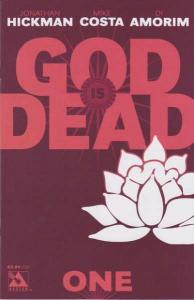 God is Dead #1, NM (Stock photo)