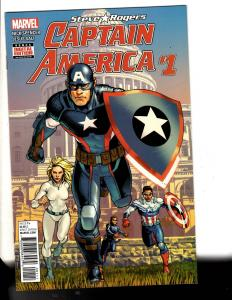 6 Comics Captain America 1 Carter 17 Duck 24 Machine Man 2 18 2001 Space 9 TW65