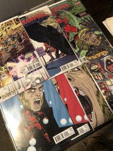 Deadpool 7 book lot