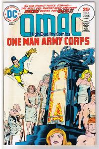 OMAC #5, VF+, Jack Kirby, One Man Army Corp, 1974, more JK in store