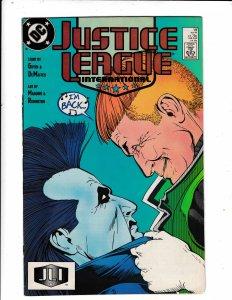 JUSTICE LEAGUE INTERNATIONAL#19 NM/VF  DC COMICS.