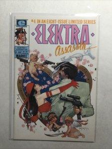 Elektra Assassin 4 Near Mint Nm Limited Series Epic Comics Marvel