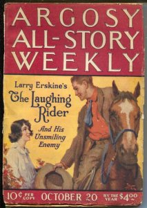 Argosy All-Story Weekly 10/20/1923-Avenging Shepherd Part 5-pulp thrills-VG