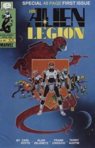 Alien Legion (1984 series) #1, VF (Stock photo)