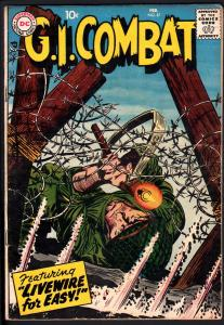 G.I. COMBAT #57 1958- dc war - EASY CO. ISSUE