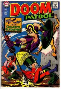 DOOM PATROL 116 VG  December, 1967