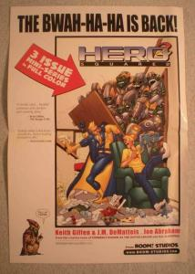 HERO SQUARED Promo Poster, 13 x 19, 2005, Unused, more in our store