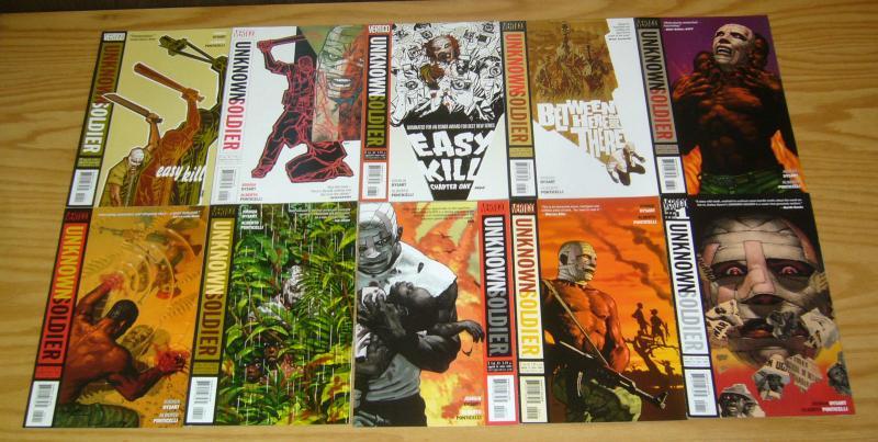 Unknown Soldier #1-25 VF/NM complete series - vertigo comics war set lot dysart