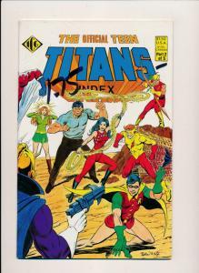 Eclipse Comics TEEN TITANS INDEX #1-#4  VERY FINE/NEAR MINT (HX678)