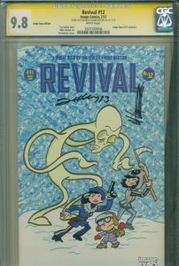 Revival #12 CGC SS 9.8 HIGHEST GRADE 2013 Image Expo Signed 2X SEELEY & NORTON