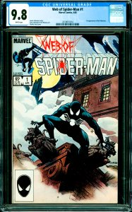 Web of Spider-Man #1 CGC Graded 9.8 1st appearance of the Vulturions.