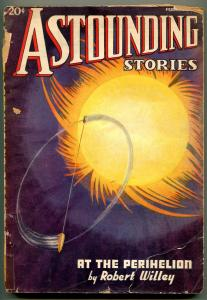 Astounding Stories Pulp February 1937- At the Perihelion reading copy