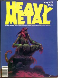 HEAVY METAL #2, FN+, May 1977, Richard Corben, Moebius, Bode, more in store