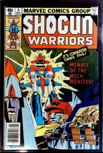 Shogun Warriors #4 (1979)